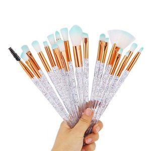 Makeup - NEW 20pc Glitter Pro Makeup Brush Set